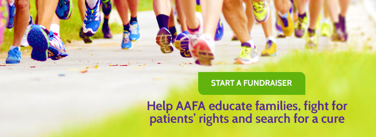 Fundraise for AAFA slider