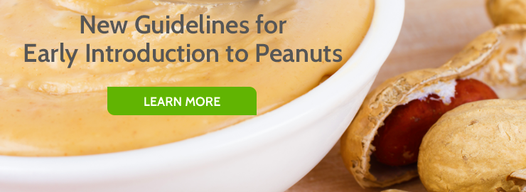 New Guidelines for Early Introduction to Peanuts