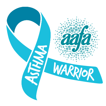 asthma warrior ribbon