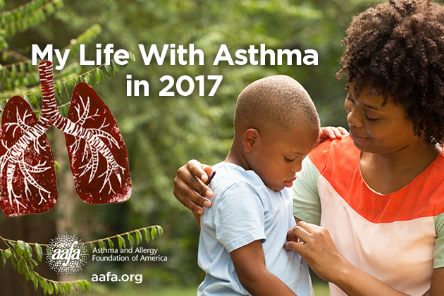 My life with Asthma Report 2017