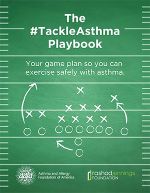 The Tackle Asthma Playbook - Game Plan So You Can Exercise Safely with Asthma