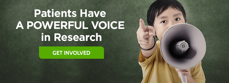 Patients have a powerful voice in research