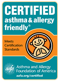 Certification  Logo - Asthma and Allergy Friendly