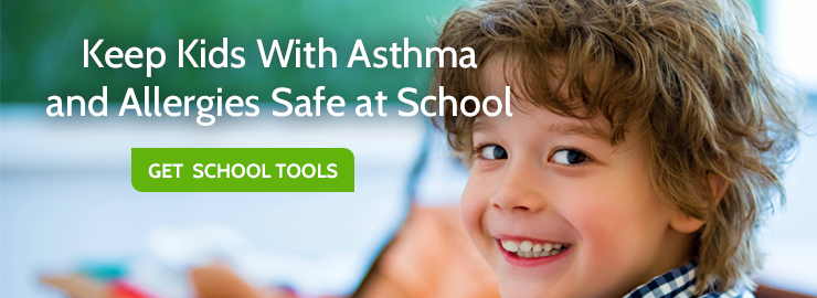 Keeps kids safe at school with asthma and allergies