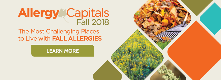 Fall allergy capitals 2018