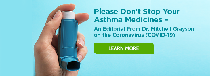 Don't stop taking your asthma meds