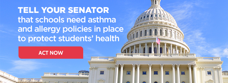 Blog Post: School-Based Allergies and Asthma Management Program Act Passes in the House Blog Post: School-Based Allergies and Asthma Management Program Act Passes in the House