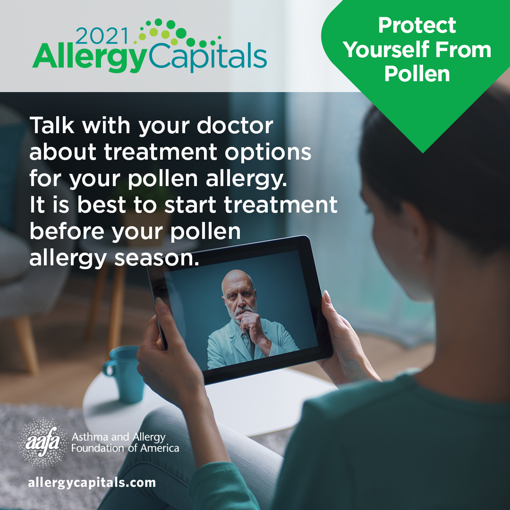 Treatment for Pollen Allergy