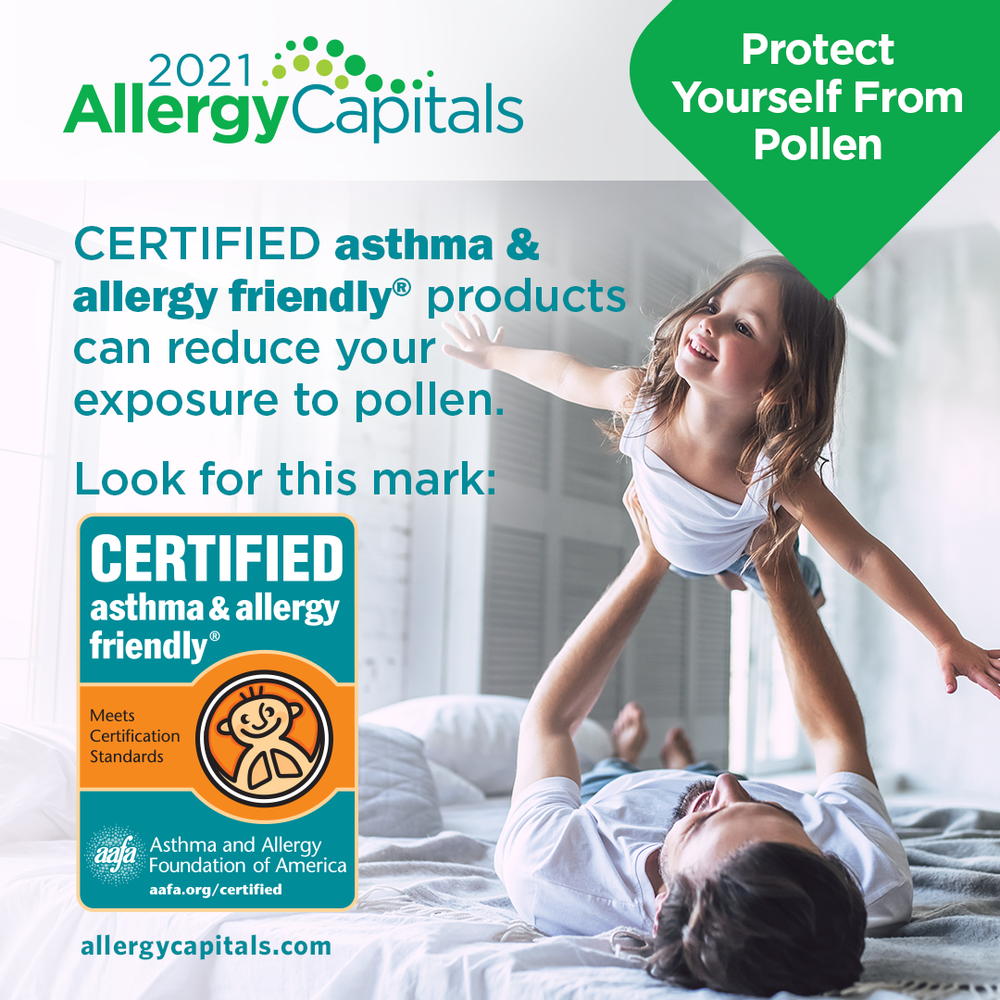 Certified Products Reduce Pollen