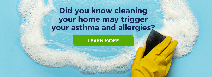 Cleaning tips for people with asthma